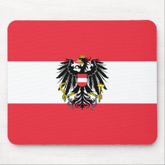 Austria Flag Mouse Pad