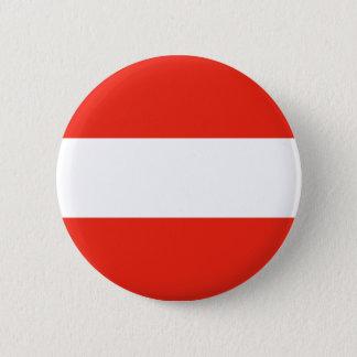 Austria - Flag / Österreich - Flagge Button