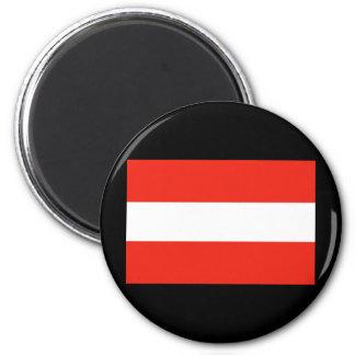 Austria - Flag / Österreich - Flagge Magnet