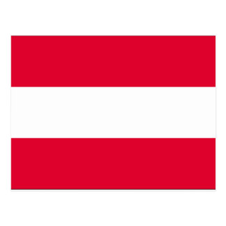 Austria Flag Postcard