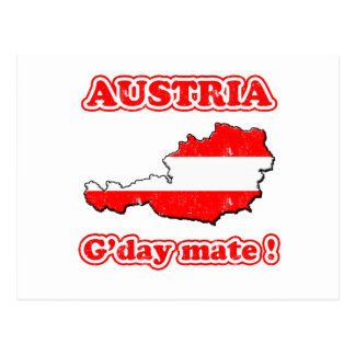 Austria - G'day mate ! Post Cards