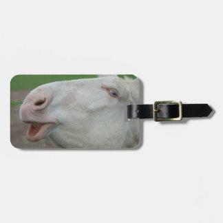 Austria-Hungarian White Donkey Bag Tag