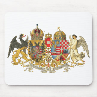 Austria-Hungary (1915-18) - Coat Of Arms Mouse Pad