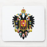 Austria Hungary Coat of Arms (1894-1915) Mouse Pad