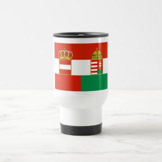 Austria-Hungary Flag 1869-1918 Coffee Mugs