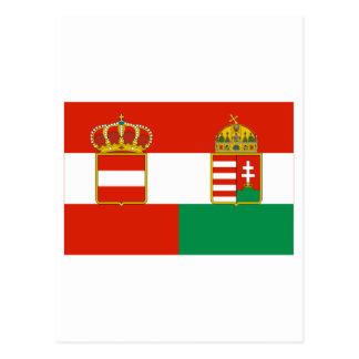 Austria-Hungary Flag (1869-1918) Postcard