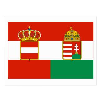 Austria-Hungary Flag 1869-1918 Post Card