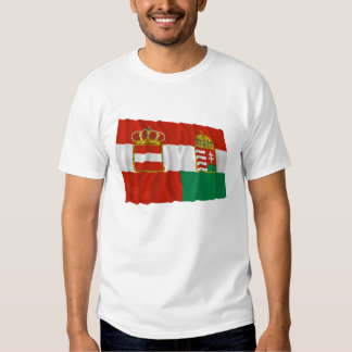 Austria-Hungary Waving Flag (1869-1918) T Shirt