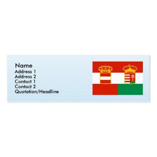 Austria Hungría 1869 1918, Hungría Plantilla De Tarjeta Personal