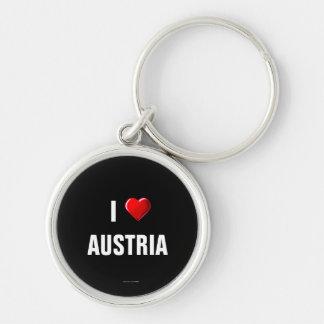 Austria: I Love Austria keychain