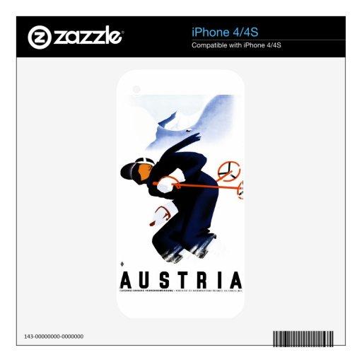 Austria iPhone 4S Skins