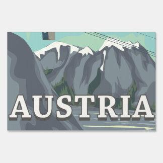 Austria Lawn Signs