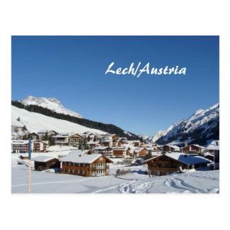 Austria, Lech am Arlberg - Postcard