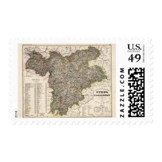 Austria, Liechtenstein Stamps