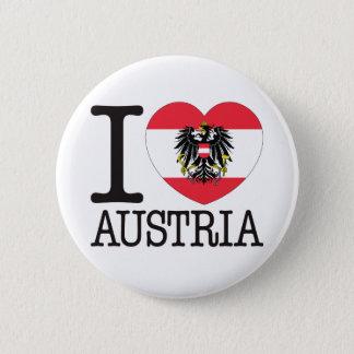 Austria Love v2 Pinback Button