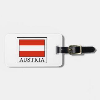 Austria Luggage Tag