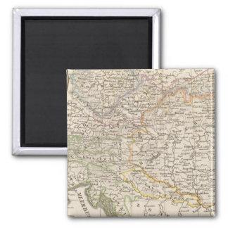 Austria 2 Inch Square Magnet
