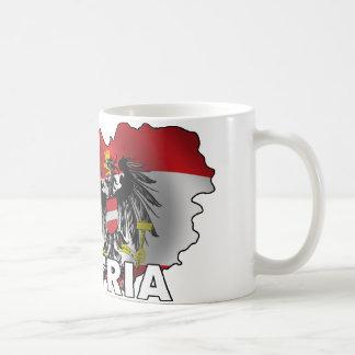 Austria Map Coffee Mug