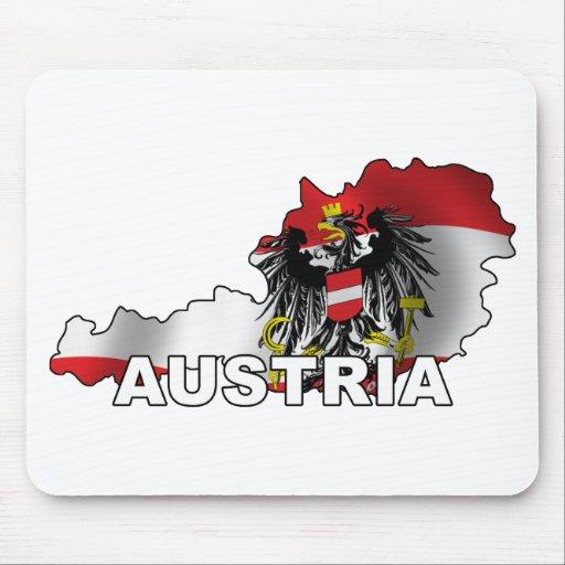 Austria Map Mouse Pad