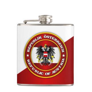 Austria Medallion Flask