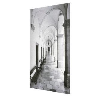 Austria, Melk. Abadía de Melk, Austria mejor Lona Estirada Galerías