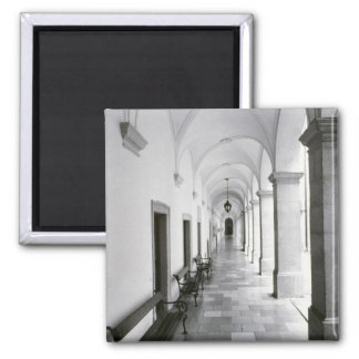 Austria, Melk. Melk Abbey, Austria's Best 2 Inch Square Magnet