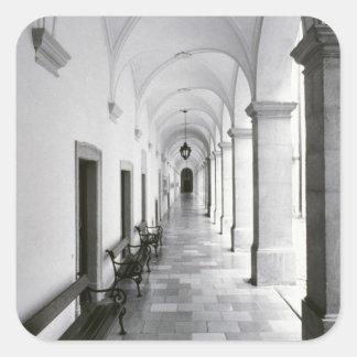 Austria, Melk. Melk Abbey, Austria's Best Square Sticker