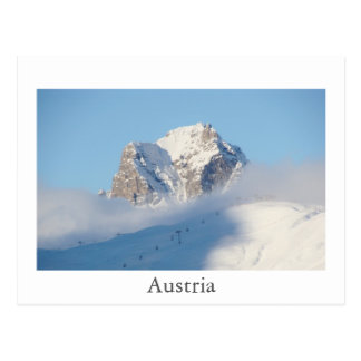 Austria Mountains Postcard