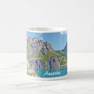 Austria Mountains with a Lake Coffee Mug