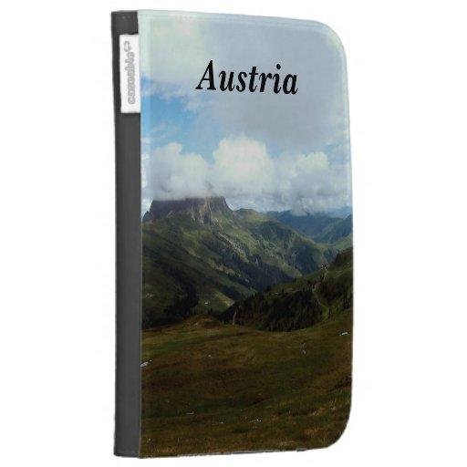 Austria Moutains Kindle 3 Cases