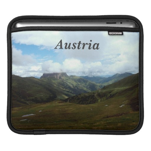 Austria Moutains Sleeves For iPads