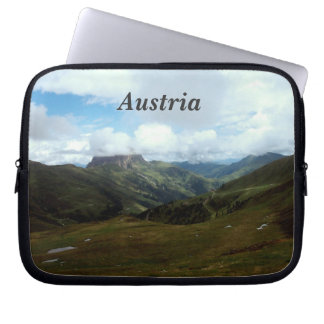 Austria Moutains Computer Sleeve