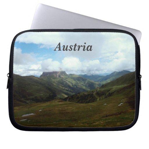 Austria Moutains Laptop Computer Sleeves