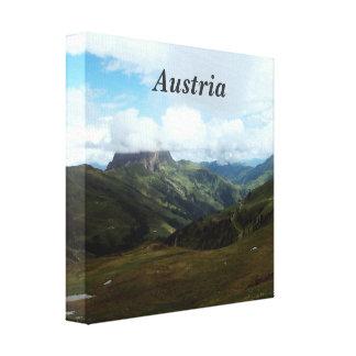 Austria Moutains Impresión De Lienzo