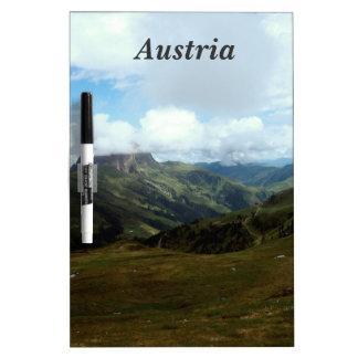 Austria Moutains Tableros Blancos