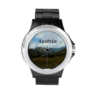 Austria Moutains Relojes De Mano