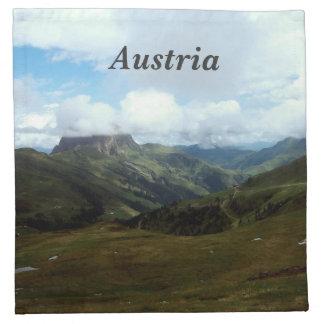 Austria Moutains Servilletas De Papel