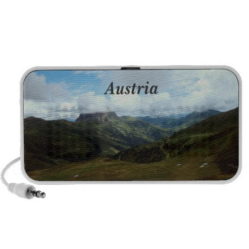 Austria Moutains iPhone Speakers