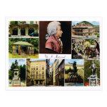 Austria, Mozart, lugares ligó a Mozart Postal