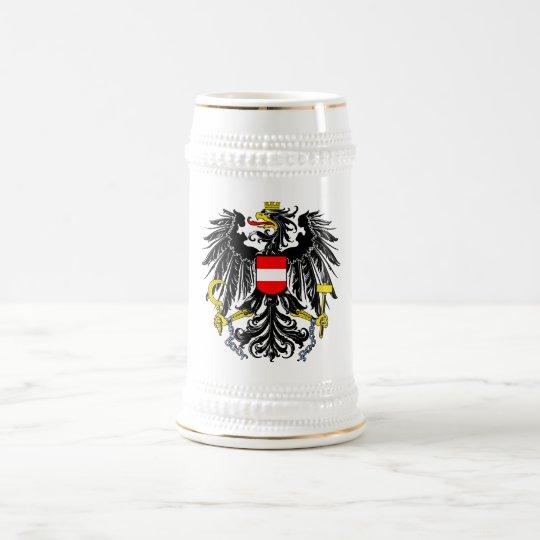 Austria Official Coat Of Arms Heraldry Symbol Beer Stein