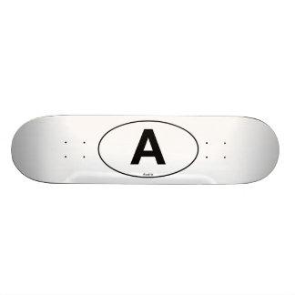 Austria Oval Skateboard Deck