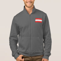 Austria Plain Flag Jacket