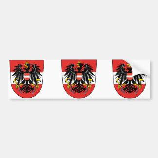 Austria se mezcló, Austria Pegatina Para Auto