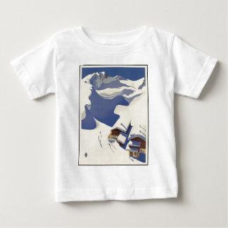 Austria Ski lodge in the Alps Baby T-Shirt