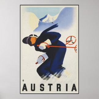Austria Ski Posters