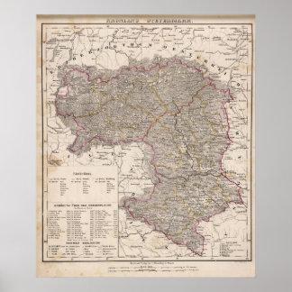 Austria, Slovenia Poster