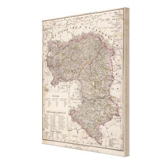 Austria, Slovenia Stretched Canvas Print