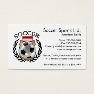 Austria Soccer 2016 Fan Gear Business Card