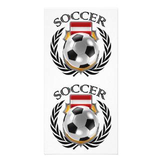 Austria Soccer 2016 Fan Gear Card