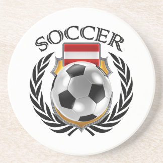 Austria Soccer 2016 Fan Gear Drink Coaster